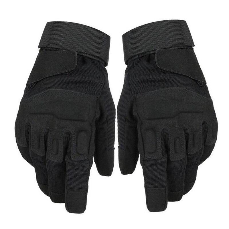 Tactical Half / Full Finger Men Sport Gloves Hunting Shooting Gloves Outdoor Hiking Camping Winter Gloves Microfiber Material