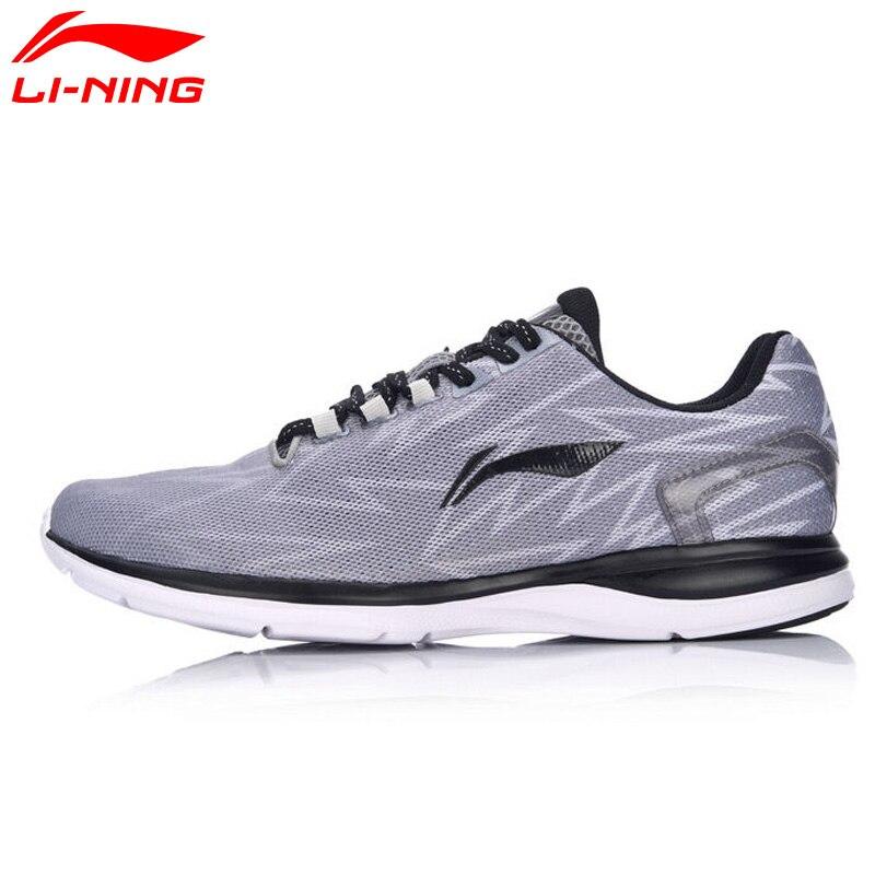 Li-Ning Hommes Lumière de Coureur de Course Chaussures Respirant Coussin Sport Chaussures Sneakers ARBM021 XYP493