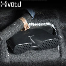 Hivotd For Mazda CX-5 CX5 Under Seat Rear AC Heat Floor Air Conditioner Duct Vent Outlet Grille Cover accessories 2017 2018 2019