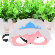 Mask Princess Crown Super Hero Glasses Kids Baby Boy Girl Costume Star Wars Christmas Avengers Masquerade Eye Cosplay