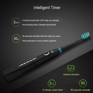 Image 5 - を SEAGO ソニック歯ブラシ充電式電気ブラシ歯歯ブラシセット旅行のための防水電気ブラシ旅行ケース