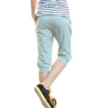 2019 New Fashion Summer Women Casual Harem Pants Female Women Aptitud Skinny Pant Deportes Long Seven Short Capris Trouser K010 1