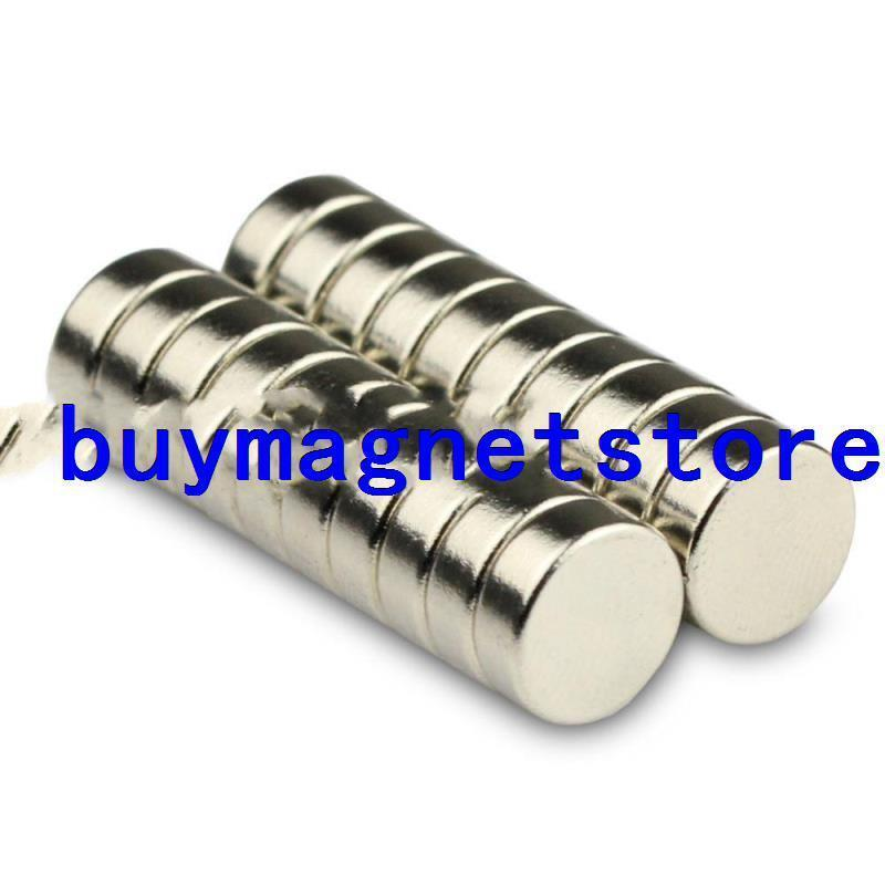 Lot 50pcs Strong Mini Round N52 Disk Disc Magnets 8 * 3 mm Neodymium Rare Earth ...
