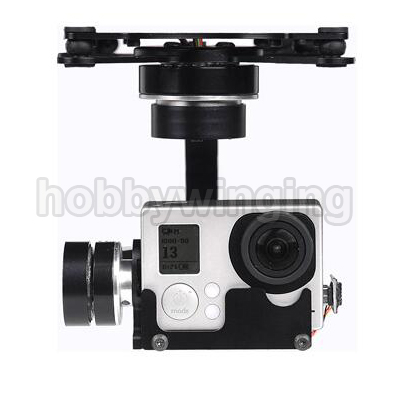 X-CAM A10-3H 3 Axis Gopro Brushless Gimbal for FPV Photography x cam