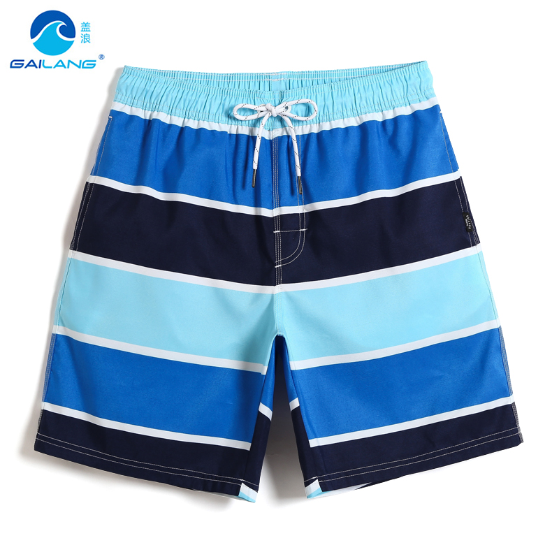 Board     shorts   Swimming trunks for men joggers swimsuit sport de bain briefs printed sexy swimwear breathable mesh