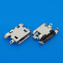 JCD micro USB Charging jack 5-pin, charging port for Lenovo A830 A850 S820 A780 A670T A590 A800 S820 mobiles(China)