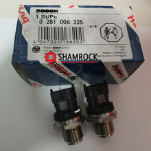 Fuel Rail Pressure Sensor Common Regulator OEM 0281006325/ 2T2906051B FFORD IIVECO VVW Constellation Delivery DDODGE TTATA PRIMA genuine oem fuel rail pressure sensor assy 499000 6400 4990006400