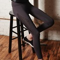 Crazy selling  hollow out  leggings fitness sporting elastic sexy leggings classic women legging