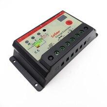 30A 12 V 24 V Авто контроллер заряда солнечной батареи Контроллер с таймером, 30 Усилители Ламповый регулятор для светодиодный уличного освещения или система на солнечной батарее для дома