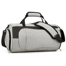 Simple Mens Fitness Bag Multi-functional Leisure Sports Short-distance Large-capacity Travel Can Put Shoes