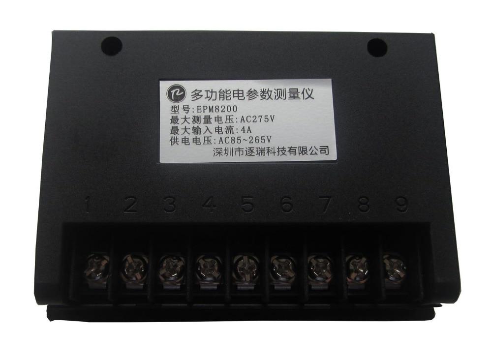 EPM8200 teljesítménymérő / feszültségáram frekvencia kwh - Mérőműszerek - Fénykép 4