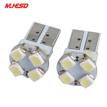 500Pcs White 501 W5W T10 168 194 bulbs 1210 3528 4 Smd Led Canbus Signal Corner Light Bulb Door Lamp Reading Interior Lighting