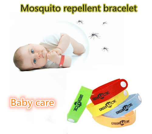 5pcs Lot Anti Moszero Pulseras Bugslock Mosquito Repellent Patch Camping Wristbands Bracelet