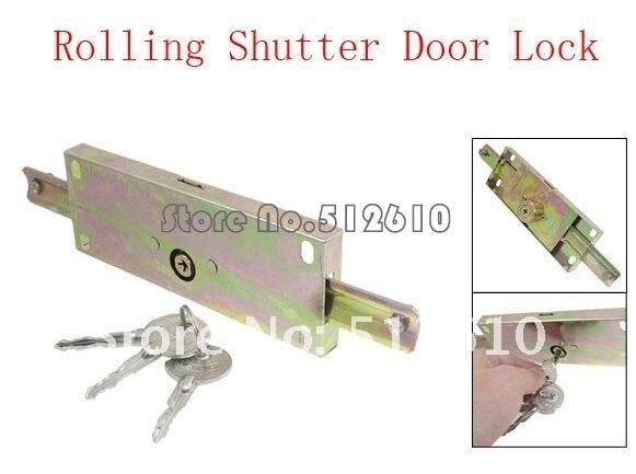 3 piezas llaves Metal Hardware y garajes Rolling para puerta de cerradura