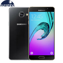 "2016 Original Samsung Galaxy A5 A5100 4G LTE Android Mobile Phone Octa Core 5.2"" 13.0MP Dual SIM Samrtphone 2G RAM 16G ROM"