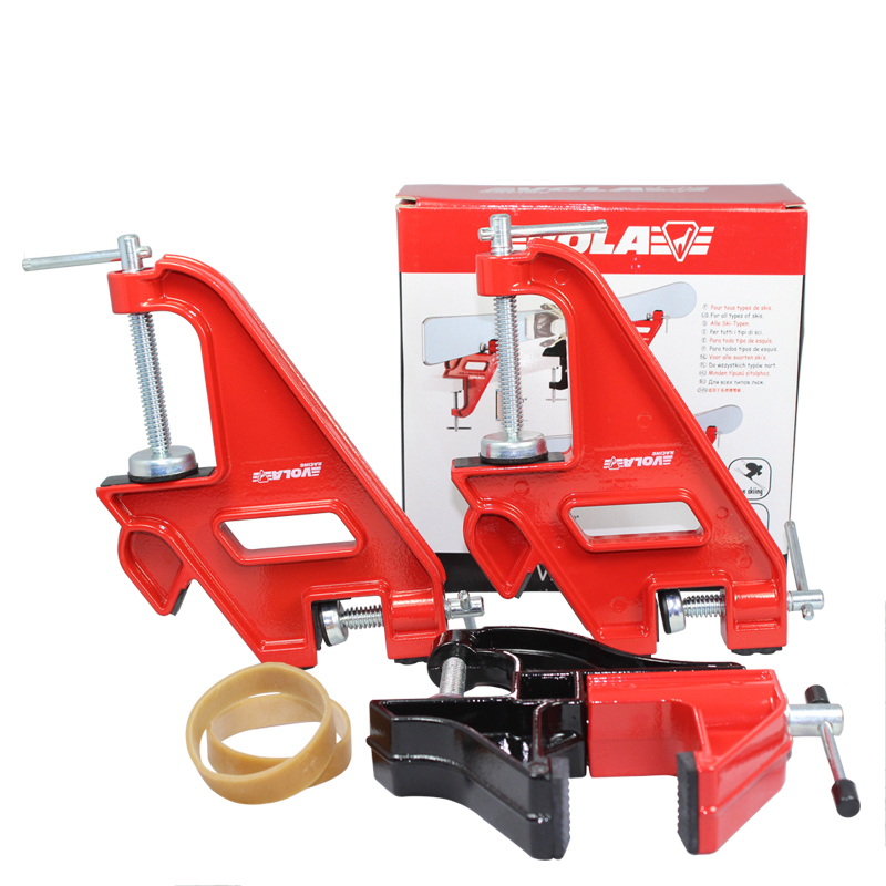 VOLA Alpine Ski Jaws Vise Compact Race või Home Waxing Tuning Edging