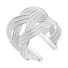 delicate high quality Silver plated Ring Fashion Jewerly Ring Women&Men , /HGUCMNCF CLALTNPA
