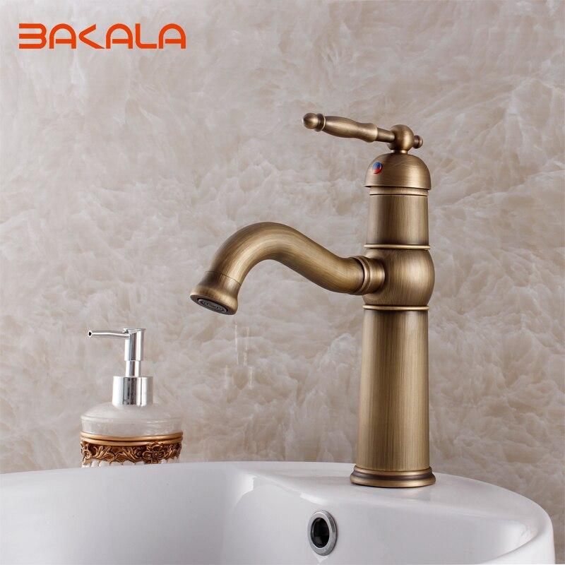 Antique bathroom faucet torneira banheiro basin faucet vintage ...