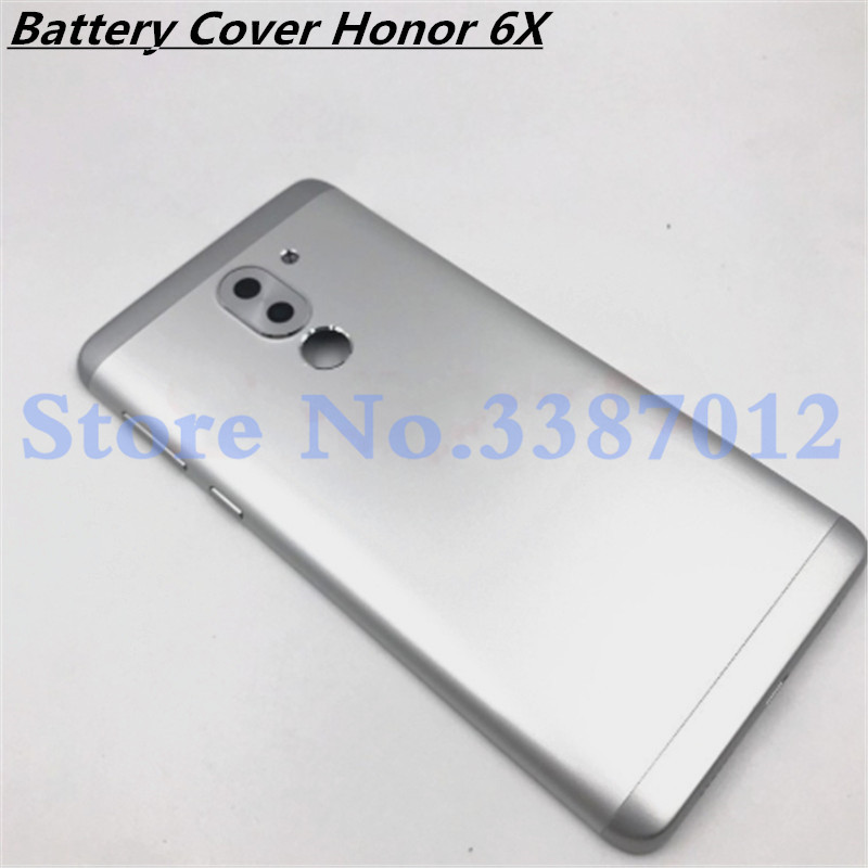 Original Battery Door Back Cover Housing Case For <font><b>Huawei</b></font> Honor 6X <font><b>GR5</b></font> <font><b>2017</b></font> / Mate 9 lite BLL-L21 BLL-L22 BLL-L23 BLN L24 L22 L21 image