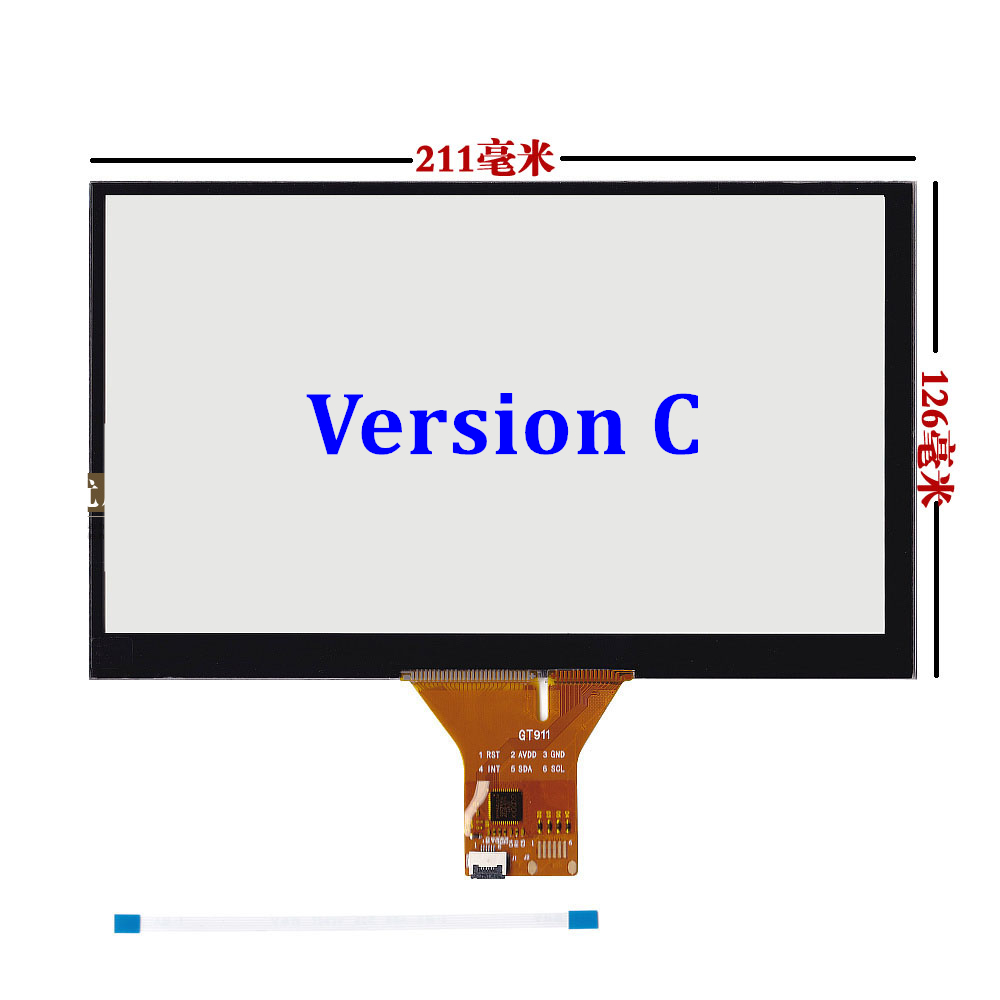6.2inch 8inch 9inch 7inch Touchscsreen Automotive touch screen panel Glass Android capacitance screen development