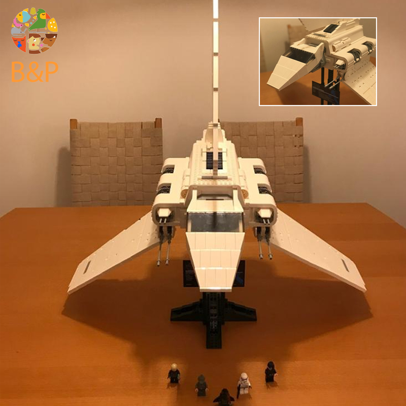 Leoging 10212 2503Pcs Star Series Wars lepin The Assemble Shuttle Model Building Blocks Bricks Toys For Children Gift 05034