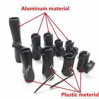 5.5cm 6.1cm 6.5 cm 9cm 9.4cm 9.5cm 15cm Coque En Aluminium Ou en plastique Double Bras pour 1 Pouces De Bâti De Boule de Bases pour gopro hero7