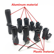 Base de montaje de bola para gopro hero7, 5,5 cm, 6,1 cm, 6,5 cm, 9cm, 9,4 cm, 9,5 cm, 15cm, aluminio o plástico