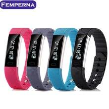 Femperna умный Браслет фитнес-трекер сердечного ритма трекер часы монитор сна умный Браслет Pulsera inteligente