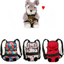 2019 Fashion New Pet Carrier Backpack Adjustable Pet Front Cat Dog Carrier Travel Bag High Quality Beautiful Canvas Material