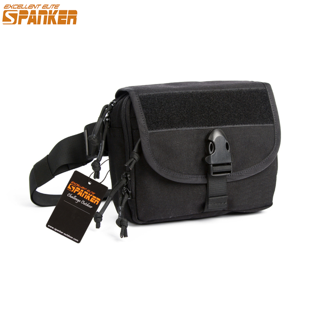 EXCELLENT ELITE SPANKER Brand Men's Military Shoulder Bags Utility Molle Pouch Waist Leisure Tablet Pack Messenger Bag