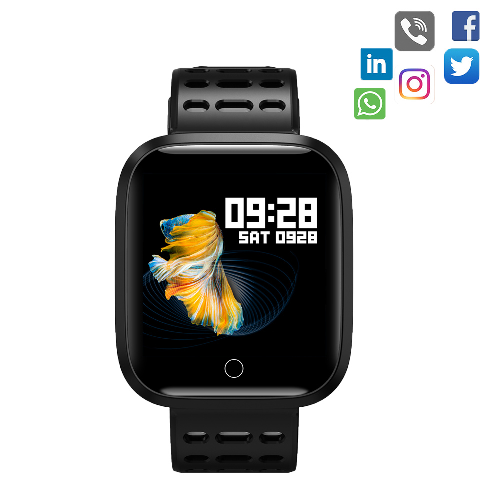 Elephone W3 IP67 Waterproof Smart Bracelet Wristband Heart Rate Monitor Bluetooth Calling Countdown Smart watch for IOS/Android