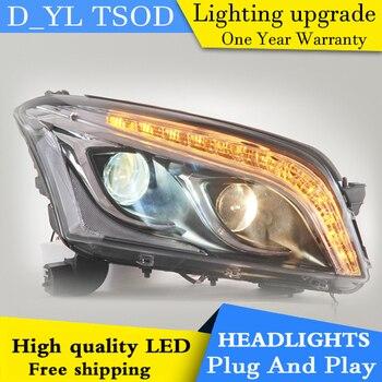 Car Styling LED Head Lamp for Chevrolet Trax headlights 2014-2015 Trax led headlight led drl H7 hid Q5 Bi-Xenon Lens low beam