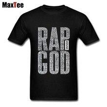 Eminem rap Dios el rapper roca camiseta para hombres Rock personalizado de manga  corta de tamaño c85ee69ee0c