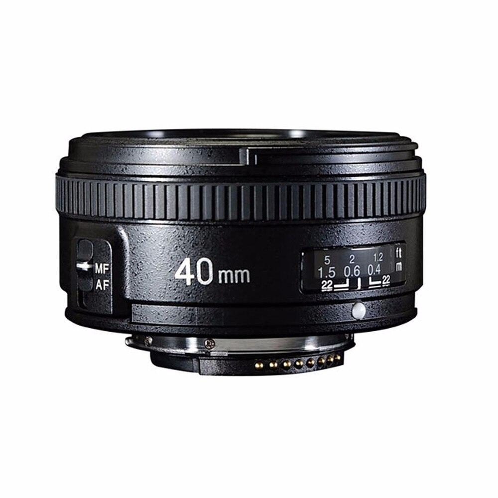 YONGNUO 40 мм F2.8 объектив Стандартный премьер AF/MF Авто Ручная фокусировка YN40mm для Nikon D90 D80 D7200 D7100 D5400 D5500 D3400 D3300 D3200