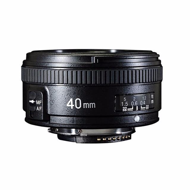 YONGNUO 40 MM F2.8 Ống Kính Tiêu Chuẩn Thủ AF/MF Tự Động Lấy Nét Bằng Tay YN40mm cho Nikon D90 D80 D7200 D7100 d5400 D5500 D3400 D3300 D3200