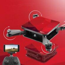 Newest WiFi FPV RC drone S1 2 4G attitude hold mini folding diamond pocket remote control