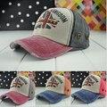 Vintage fashion leisure baseball caps men women fashion rivet peaked hats