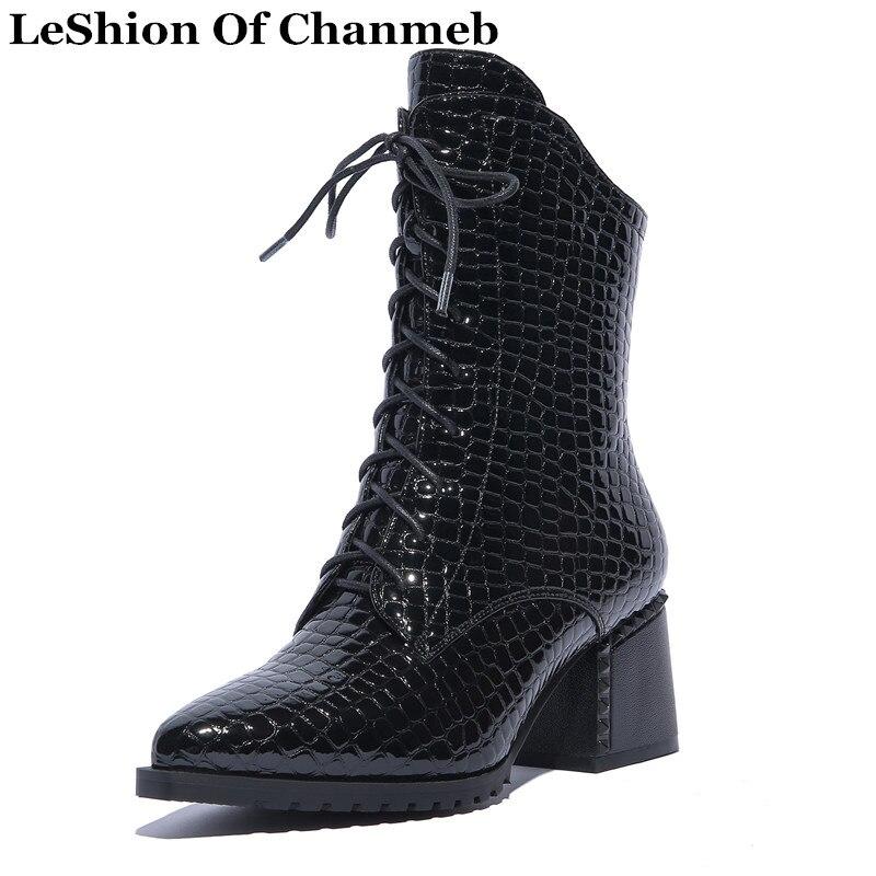 En No Boots In Bloc Hiver Synthétique Pour Black Militaire wO08vNnym