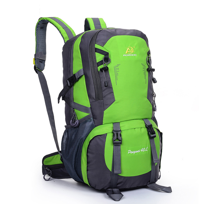 40L Camping Backpack Travel Sports Bag Large Capacity Men Rucksack Hiking Climbing Backpacks Athletic Computer Bags mountec large outdoor backpack travel multi purpose climbing backpacks hiking big capacity rucksacks sports bag 80l 36 20 80cm