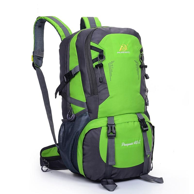 40l camping mochila de viaje bolsa de deporte de gran capacidad ...
