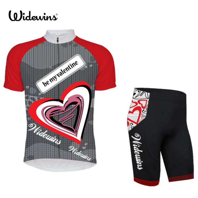 Team pro be my valentine cycling jersey set ropa ciclismo skinsuit bike jersey tmb cycling bib shorts cycling sets clothing 5326