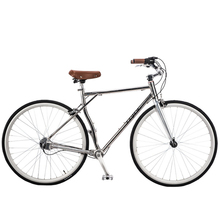 JDC-RS200 Hot Selling 700C Chainless Road Racing Bike, 3 – Gear Shaft Drive Retro Bicycle, Aluminum Alloy Hard Frame