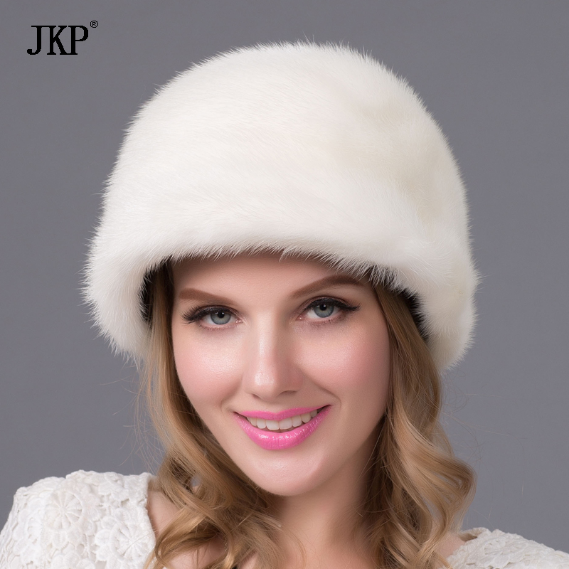 New fashion Women Mink fur hat Winter Real Mink fur hats casual mink fur cap cx c 128c hot sale fashion women mink fur wholesale woman mink fur women hat drop shipping