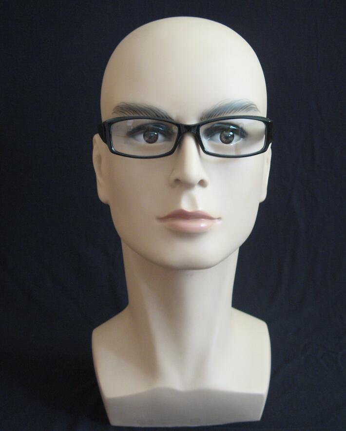 Top quality male Mannequin Head Hat Display Wig training head model head model men s head