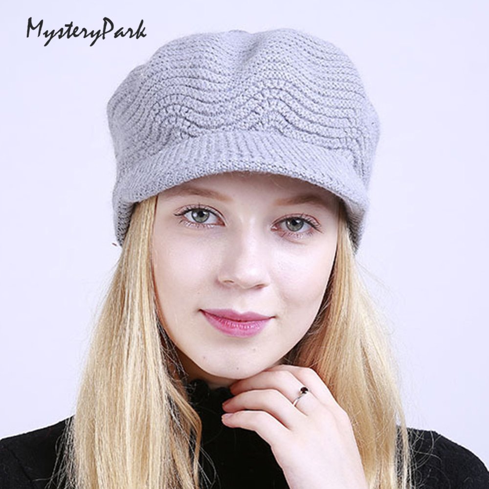 MysteryPark Winter Beanies Knit Women's Hats For Ladies Beanie Girls Skullies Caps Bonnet Femme Wool Warm Christmas Hat aetrue winter knitted hat beanie men scarf skullies beanies winter hats for women men caps gorras bonnet mask brand hats 2018