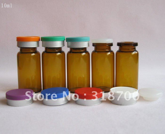 Ml Glass Medicine Bottle Flip Top