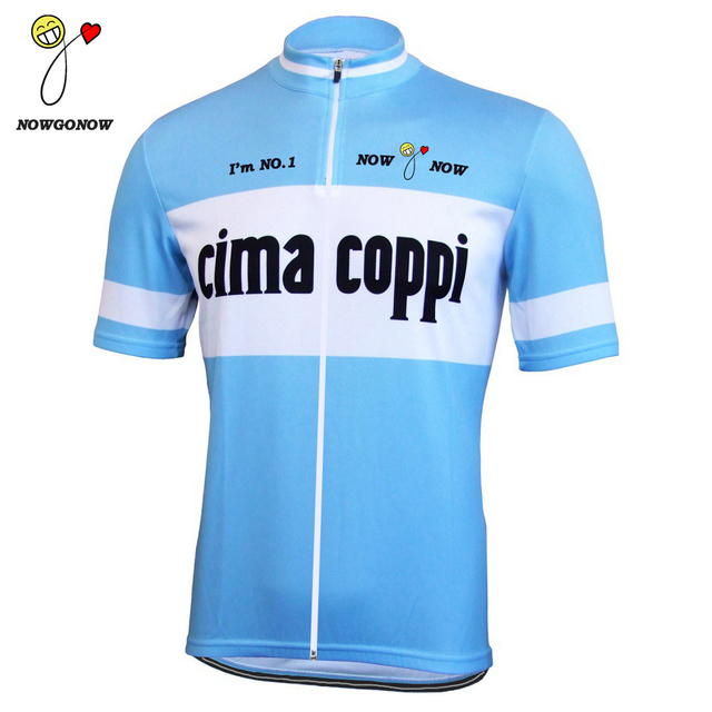 NEW Old style blue 2017 cycling jersey clothing pro racing team bike wear  riding maillot ropa ciclismo hot road nowgonow funny 027151a6e