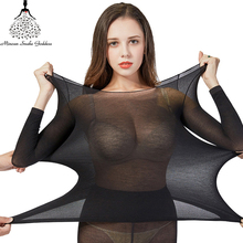 Thermal Underwear For Women Sexy Warm Long Johns Seamless Winter Set Thermos Clothing Women/Men