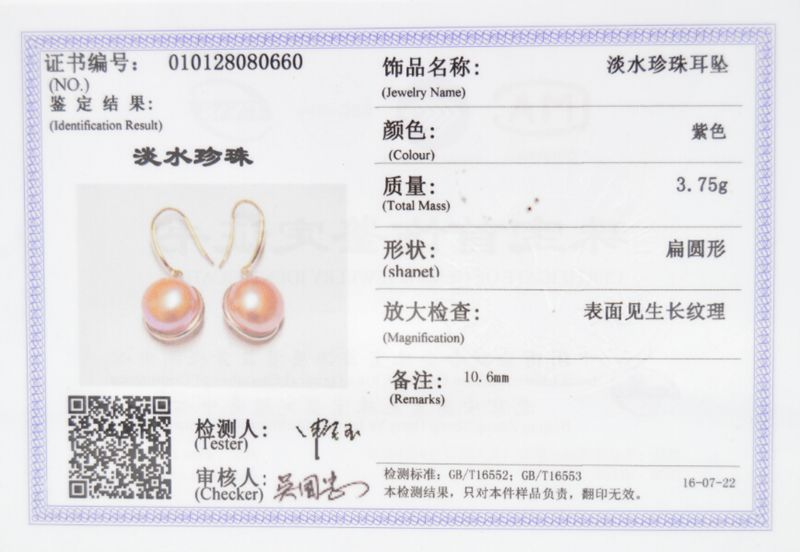 ASHIQI 925 pendientes de plata esterlina Pendientes de perlas de agua - Joyas - foto 6