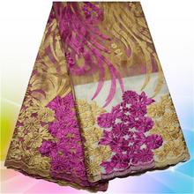 Best Quality African Voile Lace Fabric